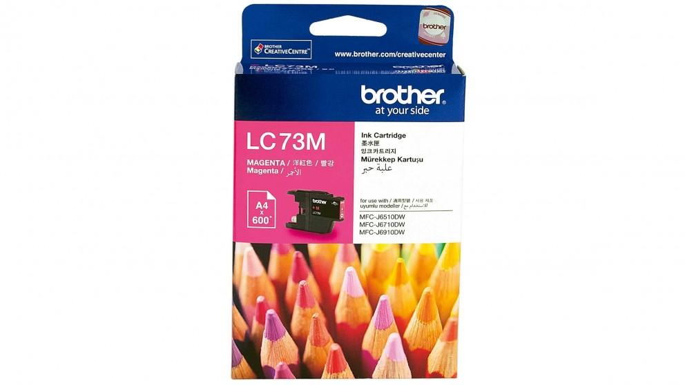 Brother LC-73M Magenta Ink Cartridge