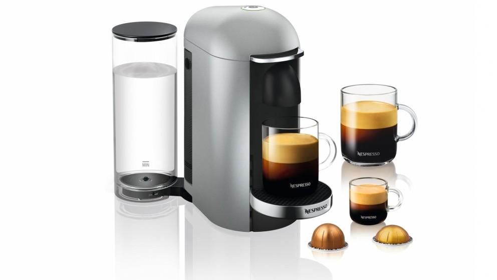 Breville Nespresso Vertuo Plus Coffee Machine - Silver