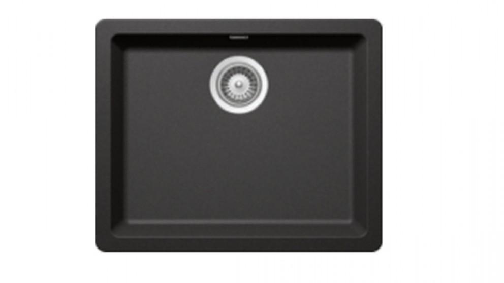 Linsol Carbono 29L Single Top Mount Sink - Black