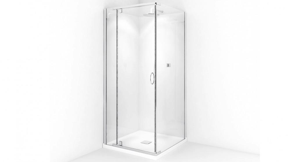 Decina Cascade Chrome Square Shower System