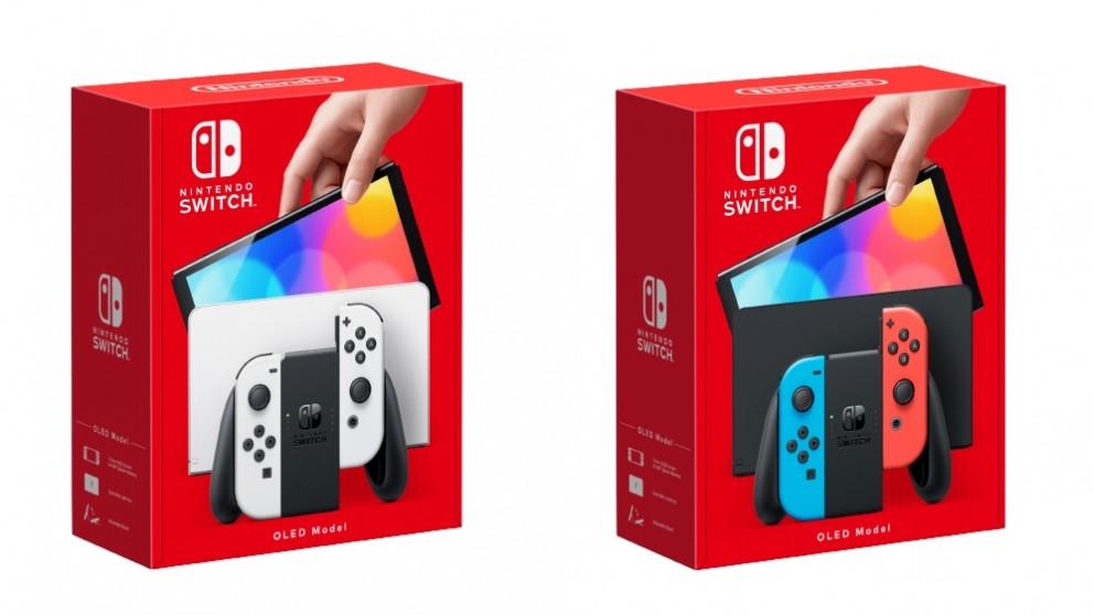 Nintendo Switch Console OLED Model