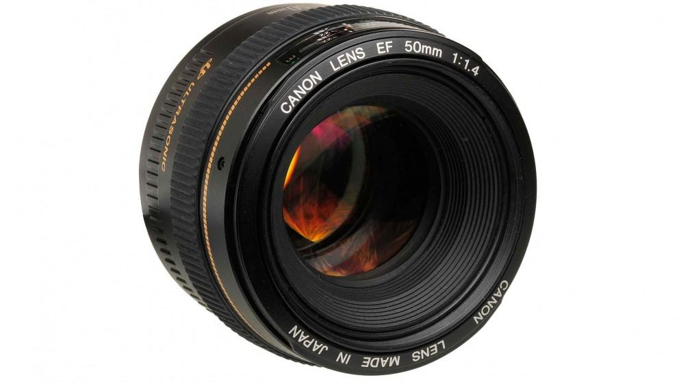 Canon EF 50mm f/1.4 USM Camera Lens