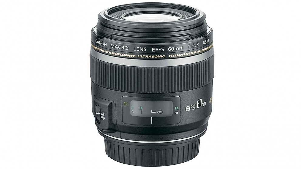 Canon EF-S 60mm f/2.8 Macro USM Camera Lens