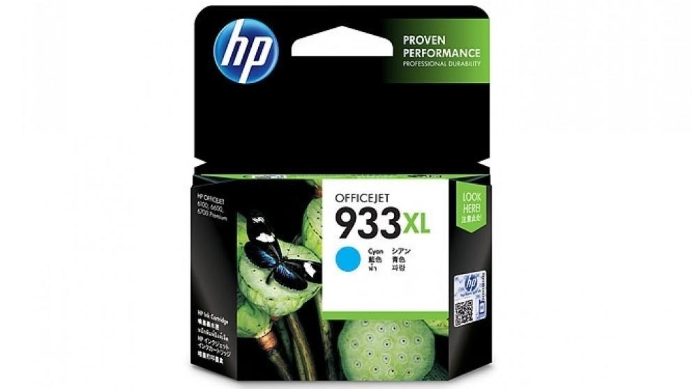 HP 933 XL Cyan Officejet Ink Cartridge
