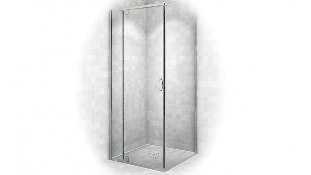 Decina Cascade 900 White Shower Screen