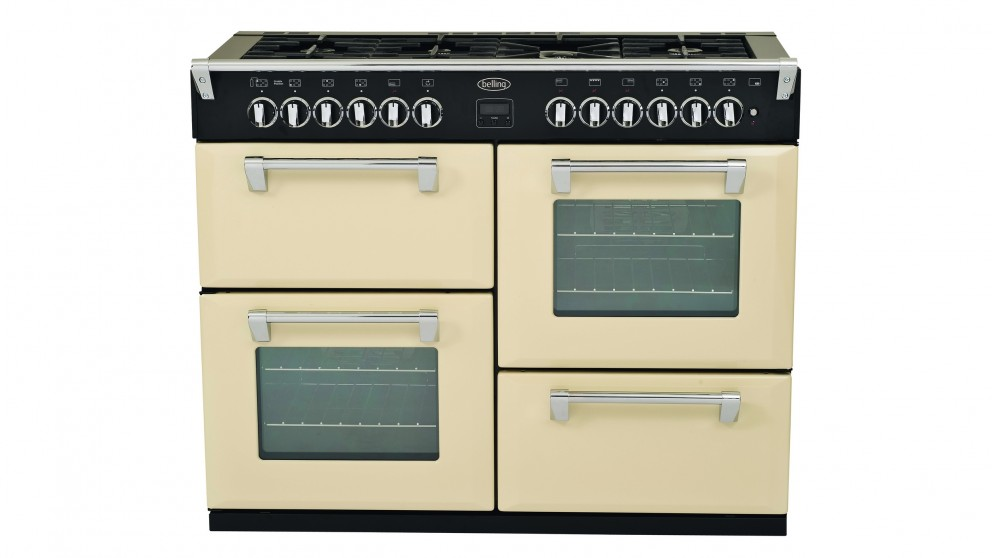 Belling 1100mm Richmond Dual Fuel Freestanding Oven - Cream