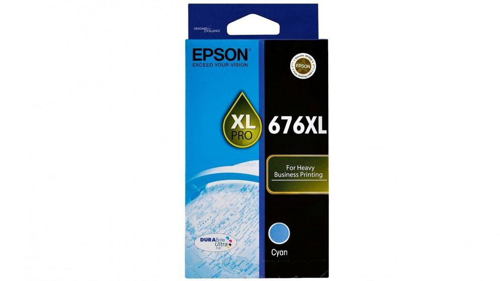 Epson 676XL Ink Cartridge - Cyan