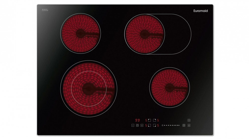 Euromaid 700mm Electric Cooktop