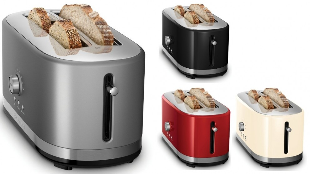 aid toaster red slice p rd product kitchenaid kitchen m empire