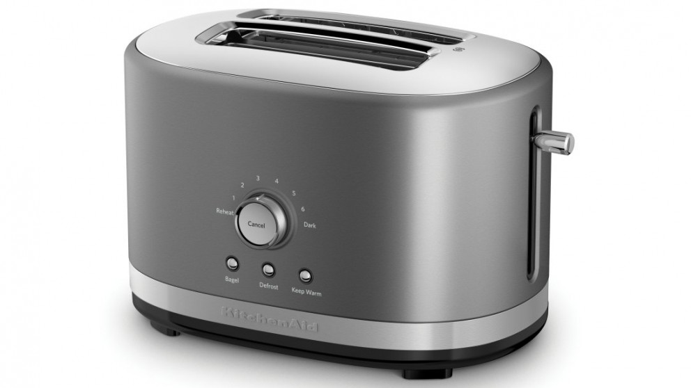 KitchenAid 2 Slice Toaster - Contour Silver