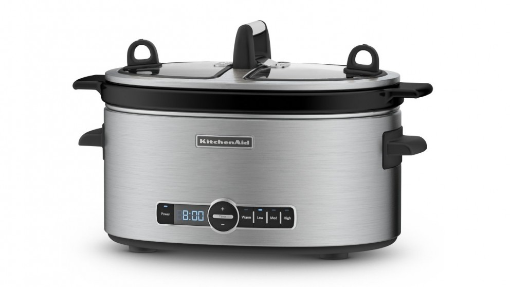 KitchenAid 5.7L Artisan Slow Cooker - Stainless Steel