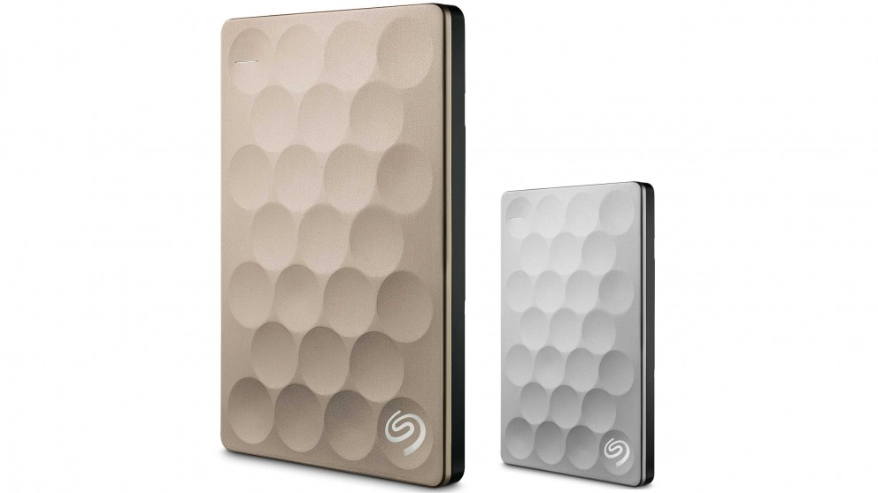 Seagate Backup Plus Ultra Slim 2TB Portable Hard Drive