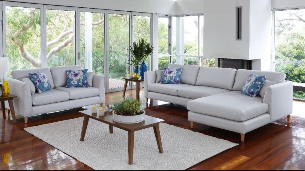 Alto 2 Piece Fabric Lounge Suite