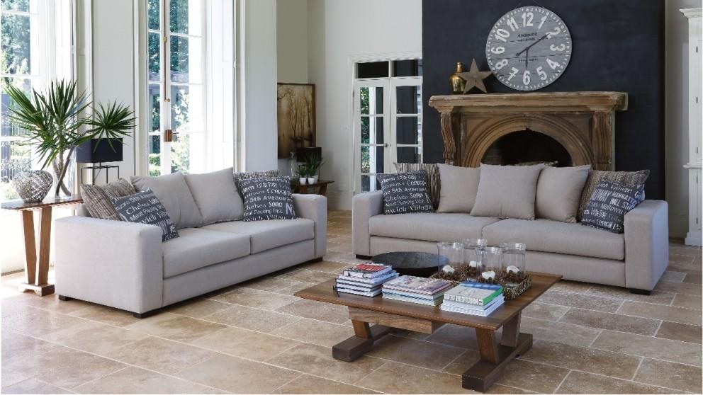 Reynold 4 Seater Fabric Lounge