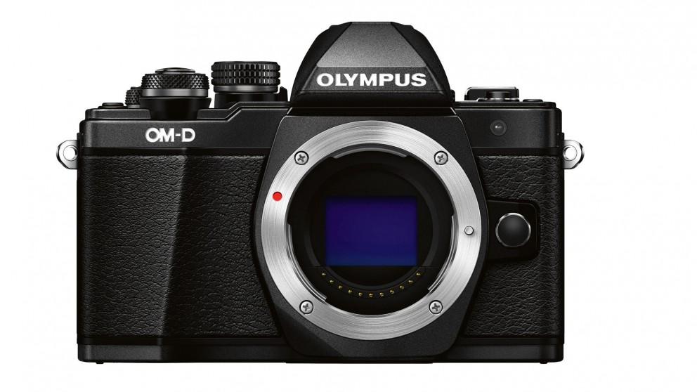 Olympus OM-D E-M10 Mark II Camera Body Only - Black