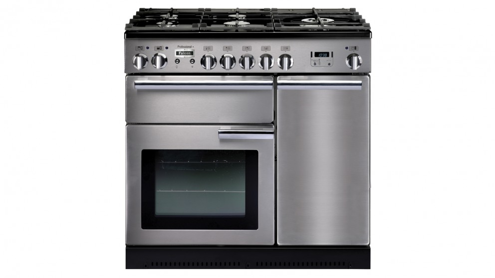 Falcon Professional+ 900mm Dual Fuel Freestanding Cooker - Stainless Steel