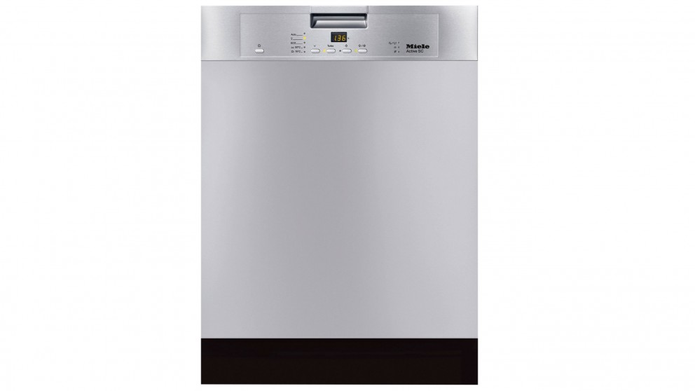 Miele 14 Place Setting Built-under Dishwasher - Stainless Steel CleanSteel