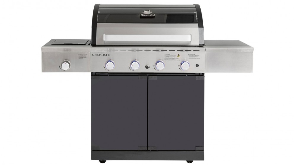 Gasmate Specialist Deluxe 4-Burner BBQ