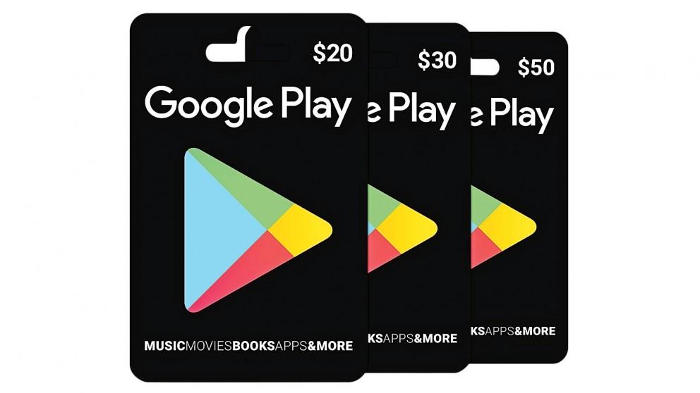 Google Play Card $30