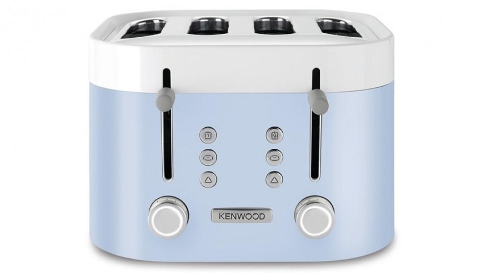 Kenwood KSense 4 Slice Toaster - White/Blue