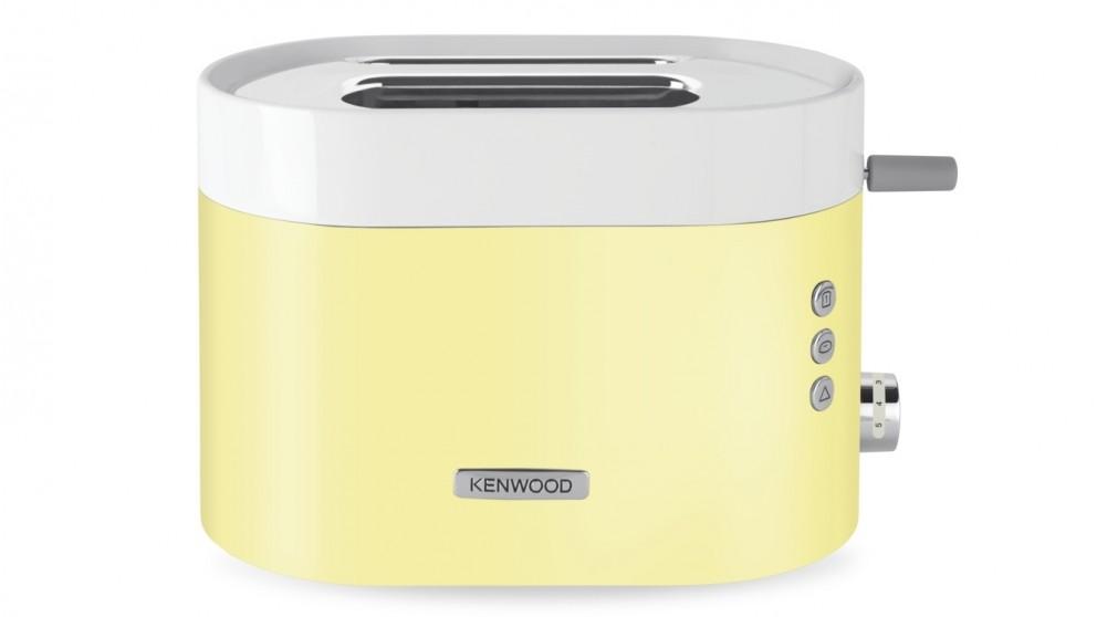Kenwood KSense 2 Slice Toaster - White/Yellow