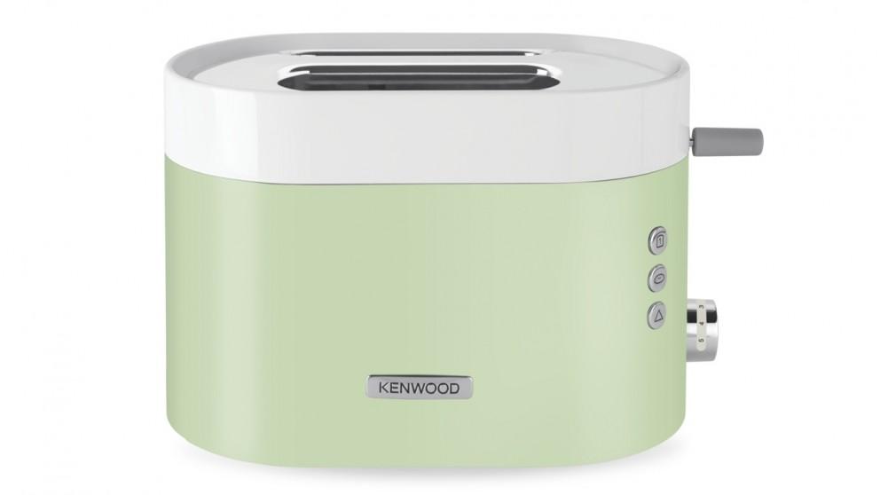 Kenwood KSense 2 Slice Toaster - White/Green