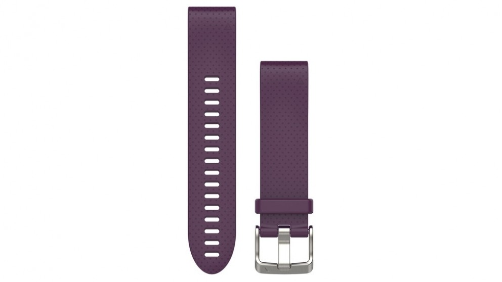 Garmin Fenix 5S Quickfit Band - Amethyst Purple Silicone