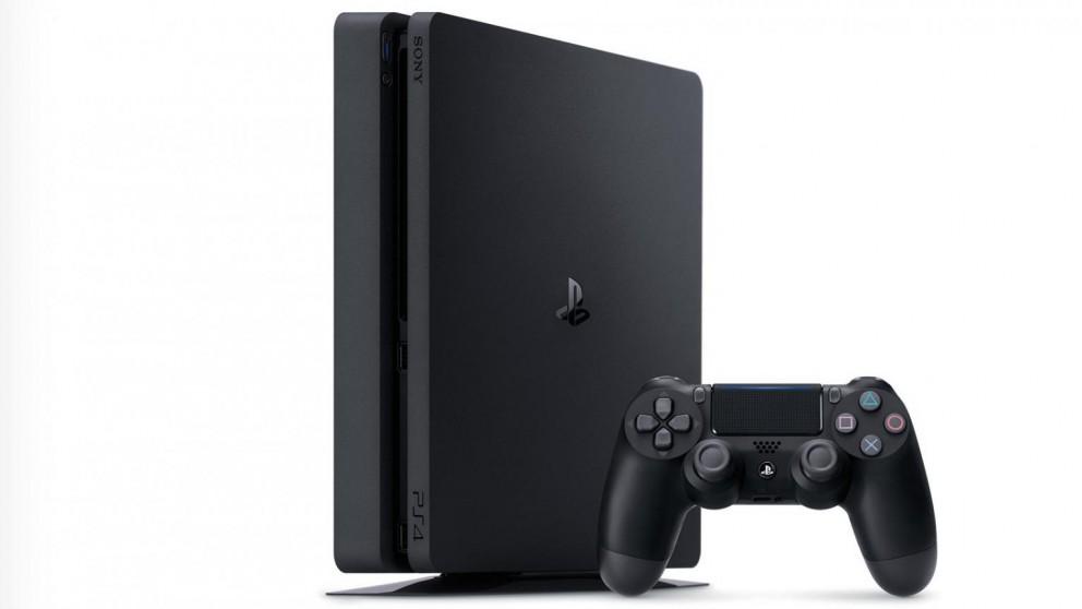 PS4 500GB Slim Console - Black