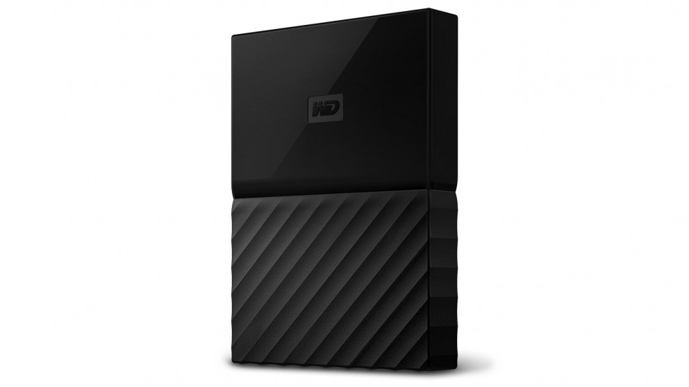WD My Passport for Mac 2017 1TB Portable Hard Drive - Black