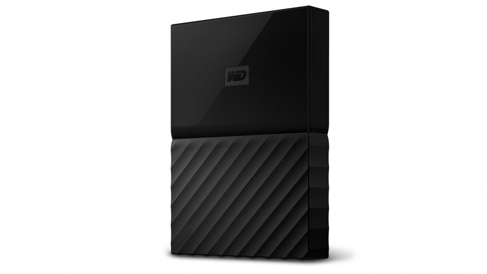 WD My Passport 2017 1TB Portable Hard Drive - Black