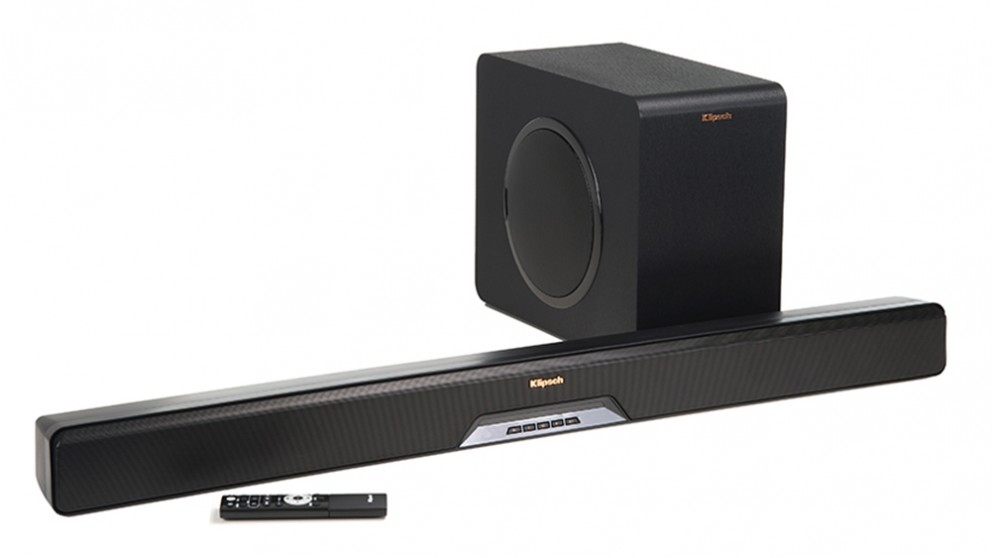 Klipsch Reference RSB-11 Soundbar and Wireless Subwoofer