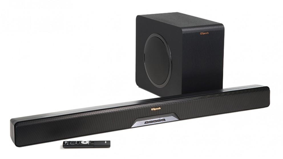 cheap klipsch reference rsb 11 soundbar and wireless subwoofer