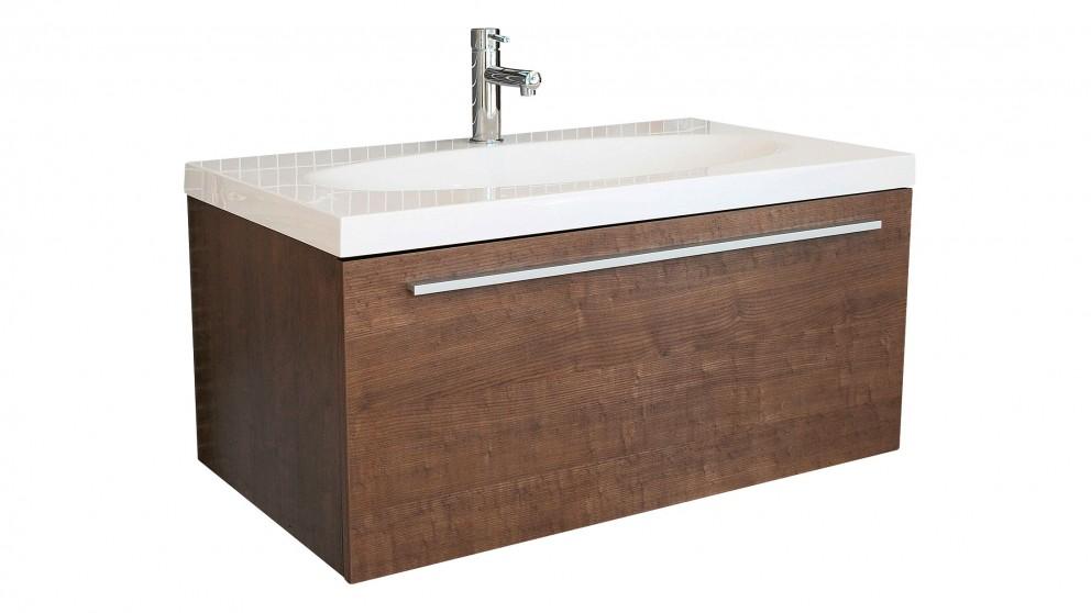 Vanity Bathroom Harvey Norman forme chelsea 920mm wall hung vanity - bathroom vanities