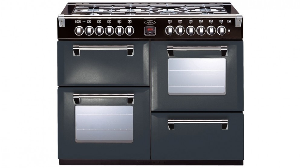 Belling 1100mm Richmond Colour Boutique Dual Fuel Range Freestanding Oven - Dramatic Dawn