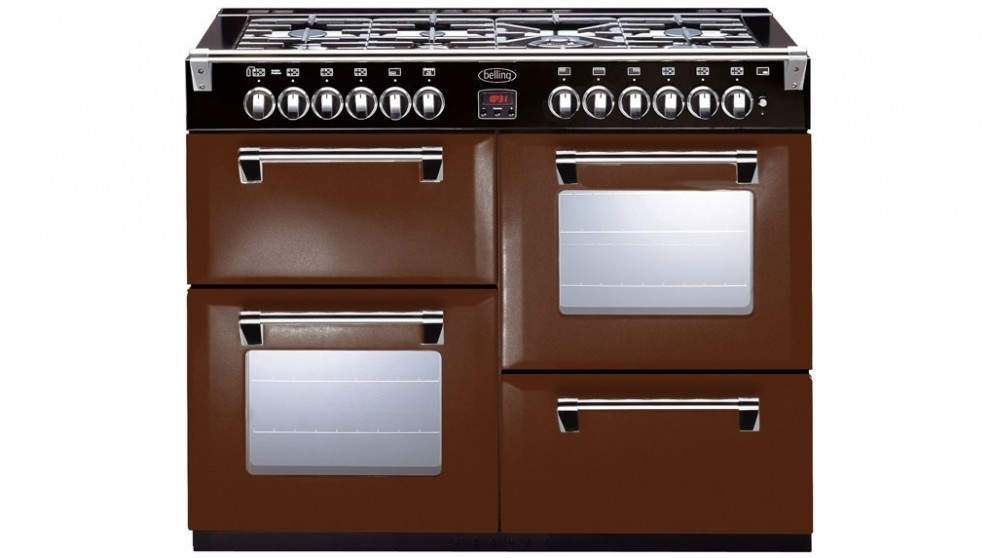 Belling 1100mm Richmond Colour Boutique Dual Fuel Range Freestanding Oven - December Dreams