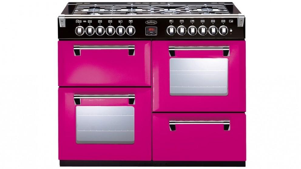 Belling 1100mm Richmond Colour Boutique Dual Fuel Range Freestanding Oven - Floral Burst