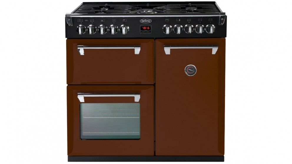 Belling 900mm Richmond Colour Boutique Dual Fuel Range Freestanding Oven - December Dreams