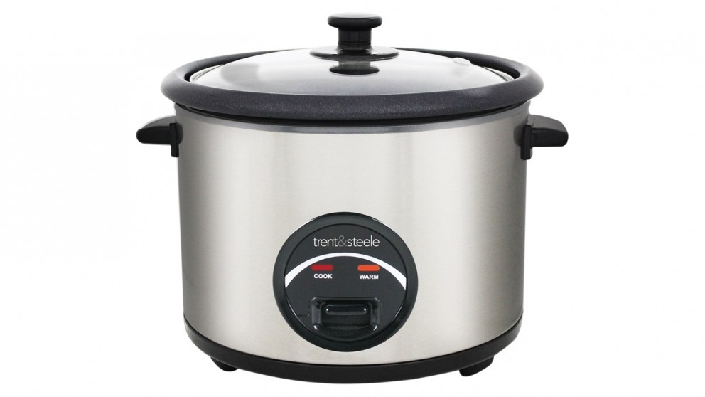 Trent and Steele 5Cup Rice Cooker - Stainless Steel