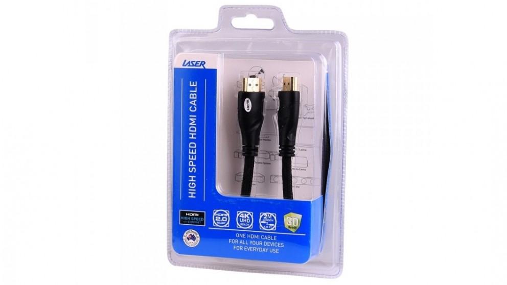 Laser 2m V2.0 HDMI Cable