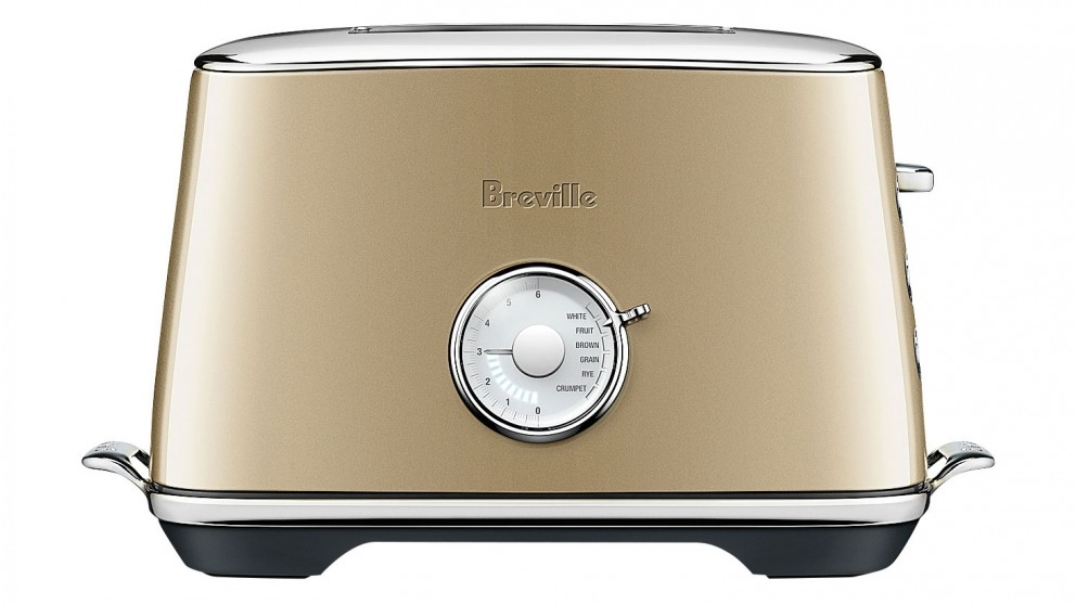 Breville Luxe 2 Slice Toaster - Royal Champagne