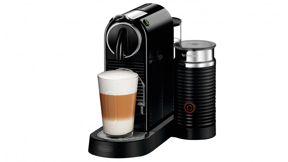 Nespresso Citiz & Milk Coffee Machine by DeLonghi - Black