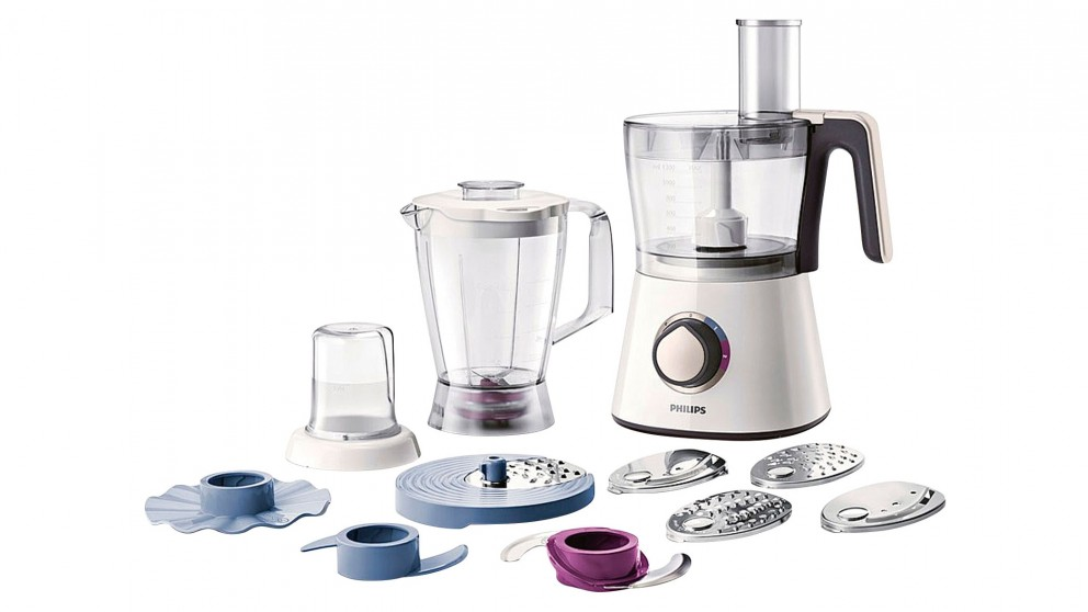 Philips Viva Collection 750W Food Processor - White