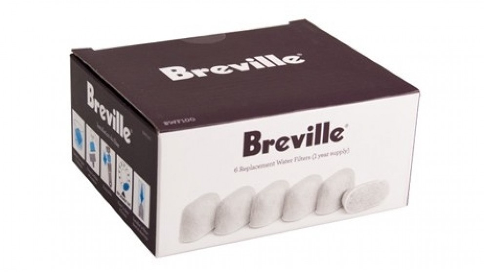 Breville Charcoal Water Filters for Espresso Machines