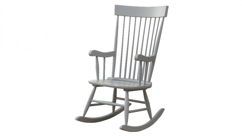 Ruby Rocker Chair - Grey