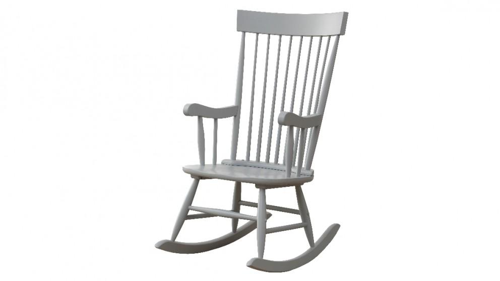 Ruby Rocker Chair - Grey