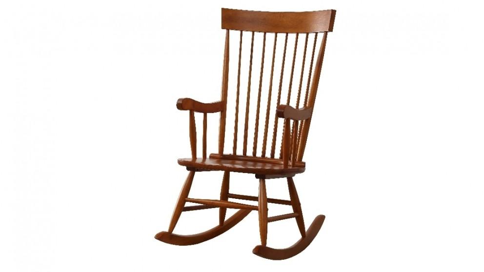 Ruby Rocker Chair - Oak