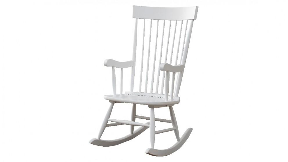 Ruby Rocker Chair - White
