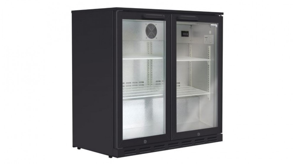 Husky 190L Double Door Back Bar Fridge