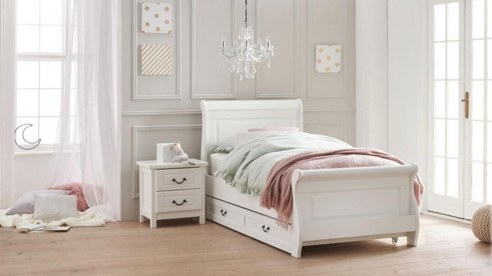 Oxford Bed Frame - White