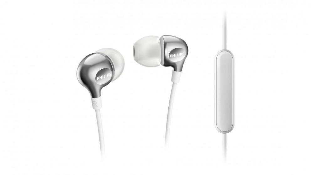 Philips MyJam In-Ear Headphones with Mic - White